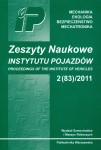 Służałek, G., Bąkowski, H. and Kaptacz, S., Eksperimental and model tests of a car frame member at a collision by FEM, Zeszyty Naukowe Instytutu Pojazdów / Politechnika Warszawska, 2011, Vol. 83(2), pp. 37-44